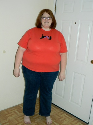 Weight Loss Pic #1 - 06/12/12 - 350 lbs - down from 367!
